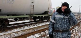 Сотрудники УВО Минтранса РФ задержали нарушителя на крыше грузового состава в Санкт-Петербурге